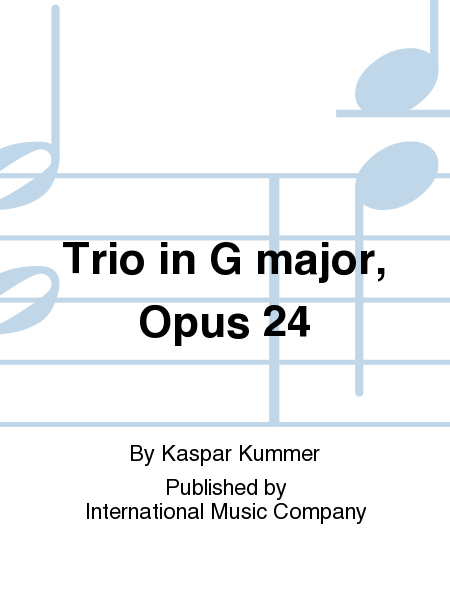 Trio in G major, Opus 24