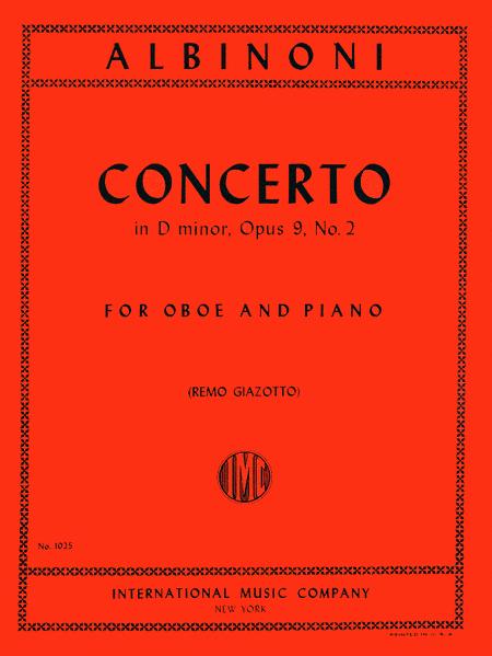 Concerto in D minor, Op. 9 No. 2