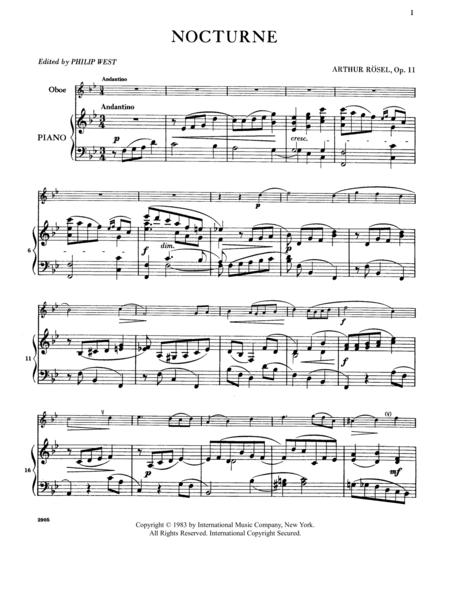 Nocturne, Opus 11