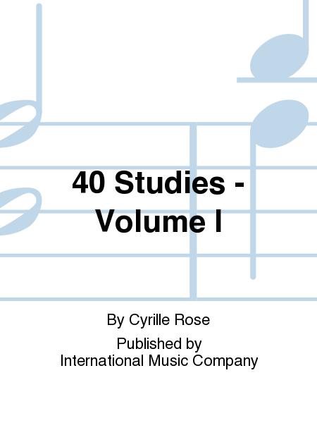 40 Studies - Volume I