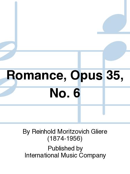 Romance, Opus 35, No. 6