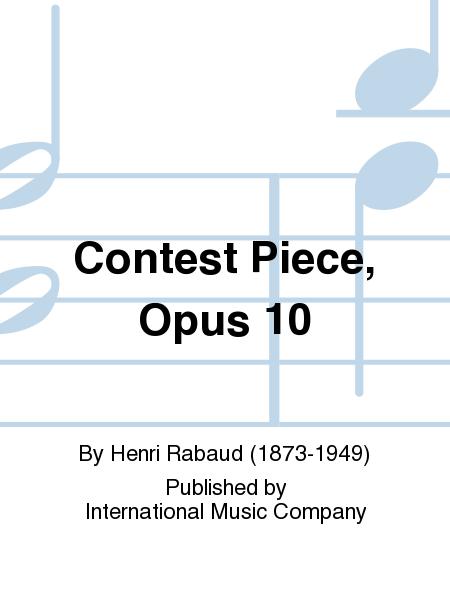 Contest Piece, Opus 10