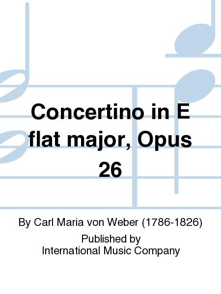 Concertino in E flat major, Opus 26