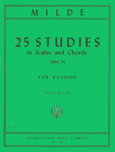 25 Studies in Scales and Chords, Op. 24