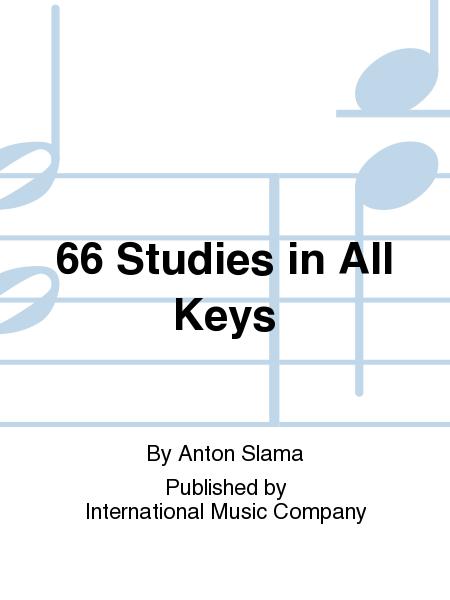 66 Studies in All Keys