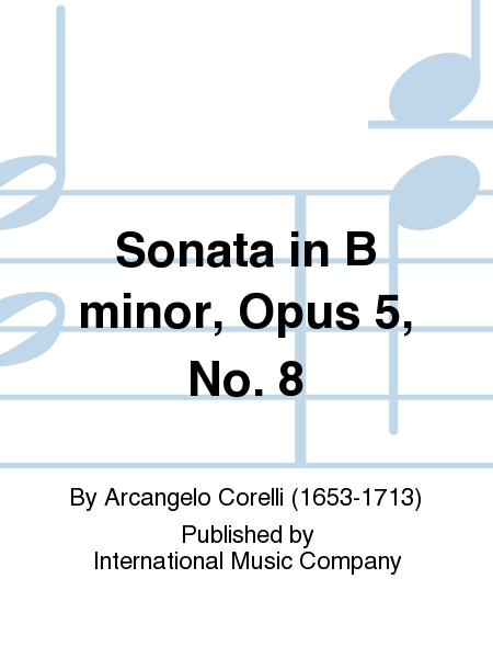 Sonata in B minor, Opus 5, No. 8