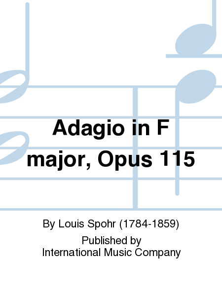 Adagio in F major, Opus 115