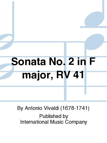 Sonata No. 2 in F major, RV 41