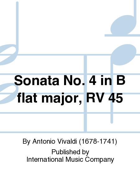 Sonata No. 4 in B flat major, RV 45