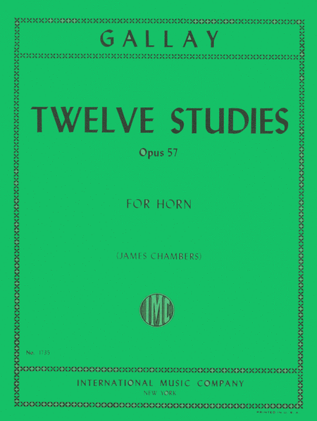 12 Studies for 2nd Horn, Op. 57