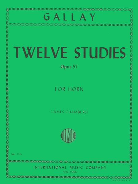 12 Studies for 2nd Horn, Op. 57