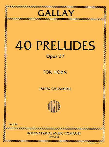 40 Preludes, Op. 27