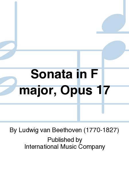 Sonata in F major, Opus 17