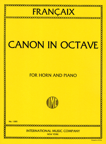 Canon in Octave