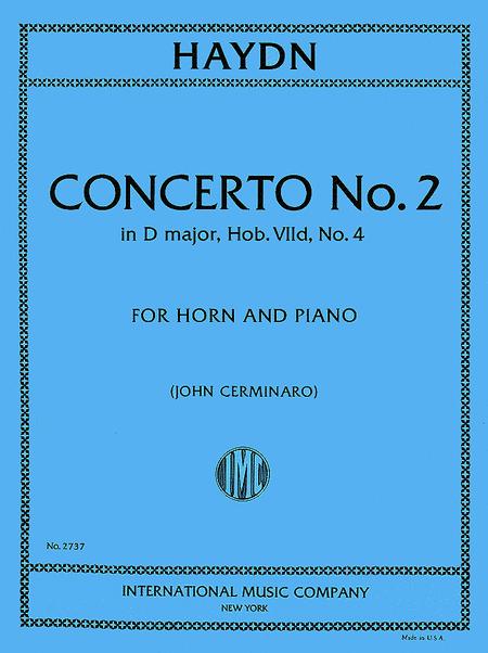 Concerto No. 2 in D major (Hob. VIId: No. 4)