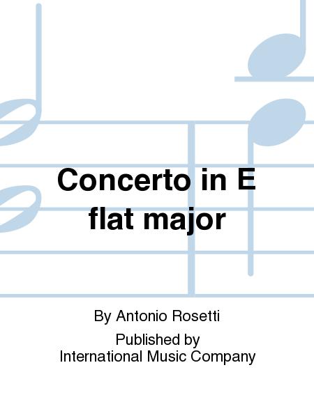 Concerto in E flat major