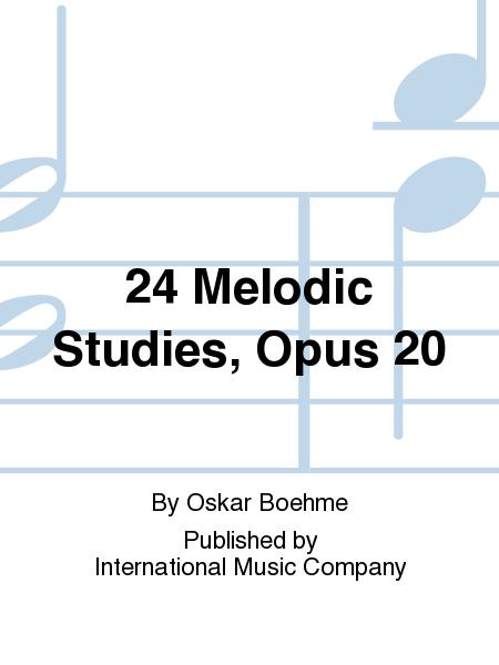 24 Melodic Studies, Opus 20