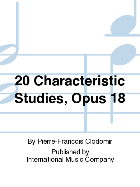 20 Characteristic Studies, Opus 18