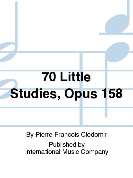 70 Little Studies, Opus 158