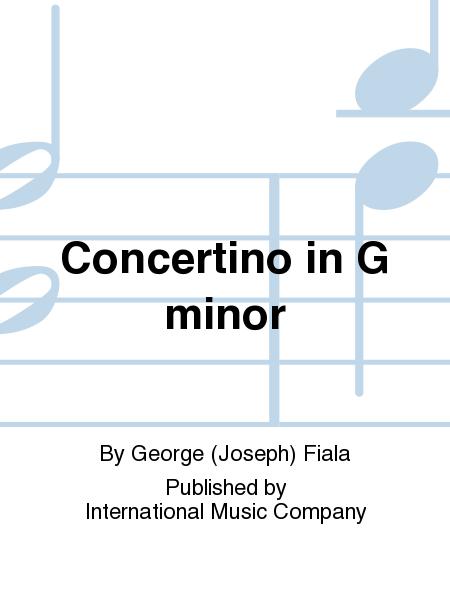 Concertino in G minor