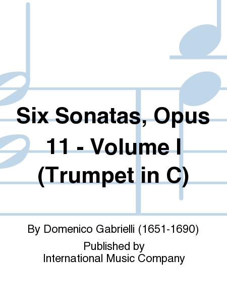 Six Sonatas, Opus 11 - Volume I (Trumpet in C)