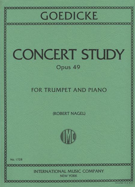 Concert Study, Op. 49 (Trumpet in C)