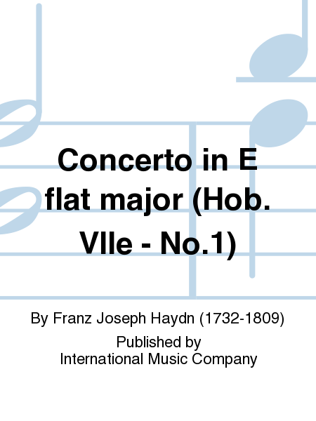 Concerto in E flat major (Hob. VIIe - No.1)