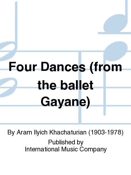 Four Dances (from the ballet Gayane)