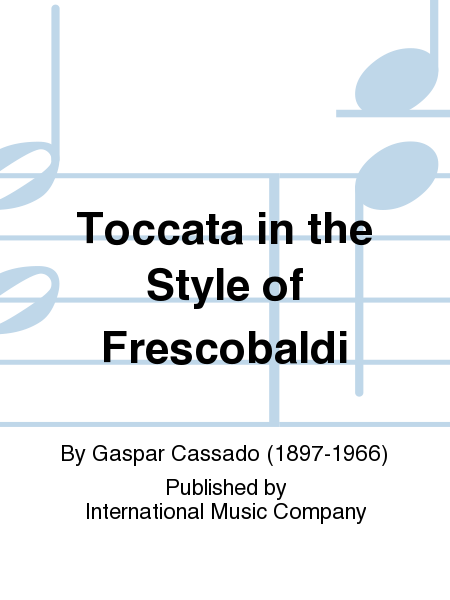 Toccata in the Style of Frescobaldi