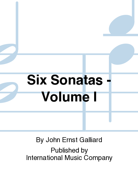 Six Sonatas - Volume I