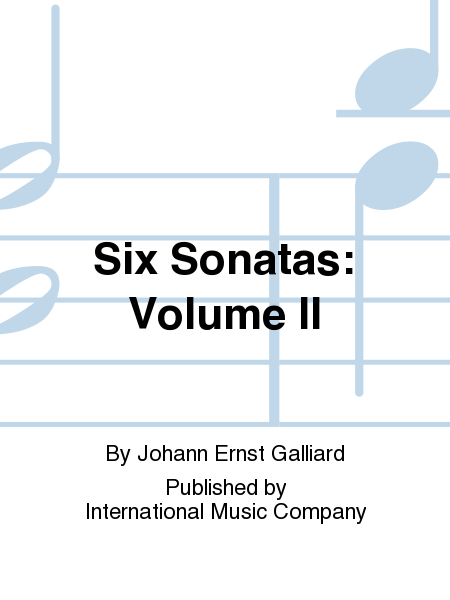 Six Sonatas: Volume II