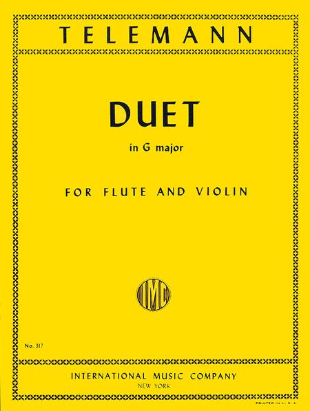 Duet in G major for Flute & Violin