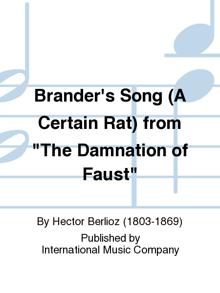 Brander's Song (A Certain Rat) from