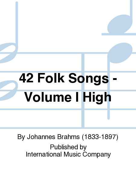 42 Folk Songs - Volume I High