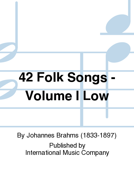 42 Folk Songs - Volume I Low