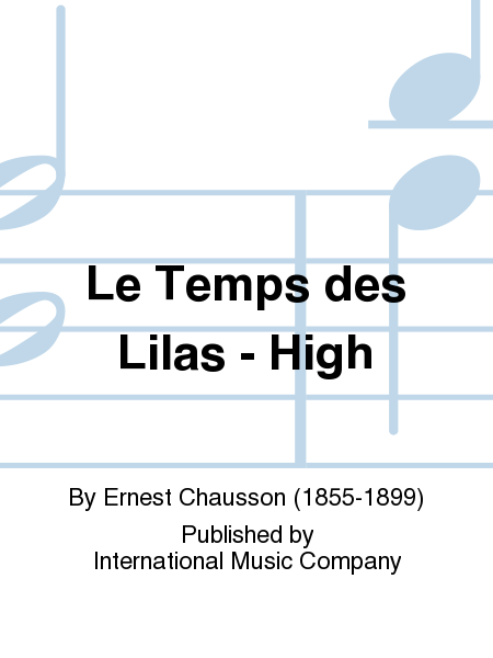 Le Temps des Lilas - High