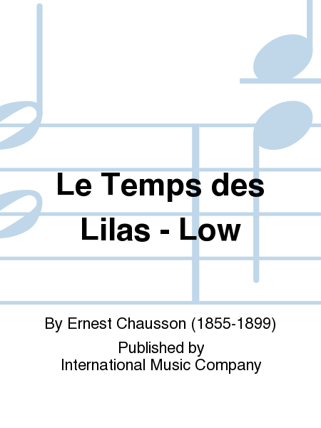 Le Temps des Lilas - Low