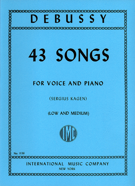43 Songs - Medium & Low (transposed from the high volume)