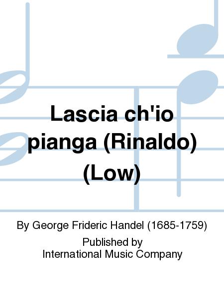 Lascia ch'io pianga (Rinaldo) (Low)