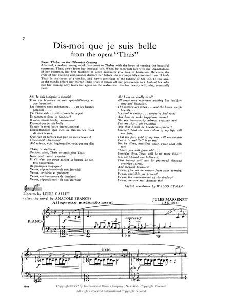 Mirror Aria - Dis Moi que je suis belle, from