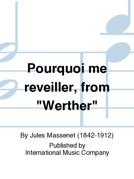 Pourquoi me reveiller, from