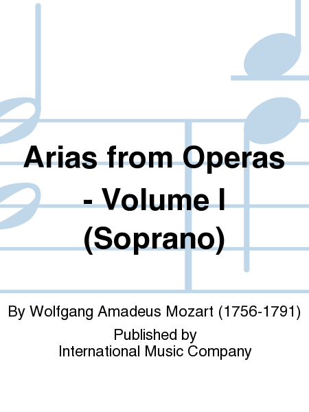Arias from Operas - Volume I (Soprano)