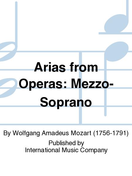 Arias from Operas: Mezzo-Soprano