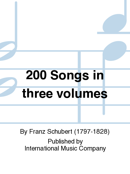 200 Songs in three volumes