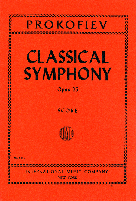 Classical Symphony, Opus 25