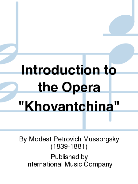 Introduction to the Opera