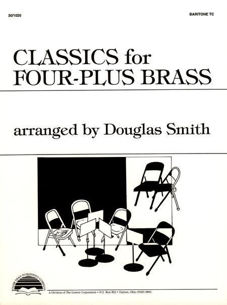 Classics for Four-Plus Brass - Baritone TC