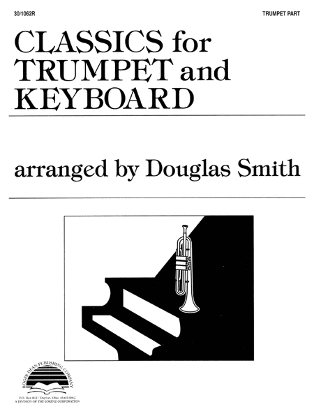 Classics for Trumpet and Keyboard - Trumpet Part
