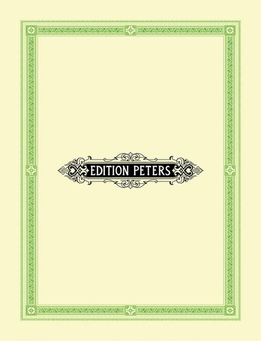 Cantique de Jean Racine, Op 11. Vocal score