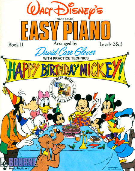 Walt Disney Easy Piano, Book I